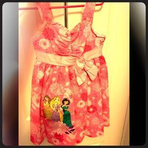 Pink floral Disney princess sundress 3t,